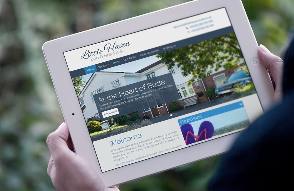 Little Haven - Holiday accommodation website